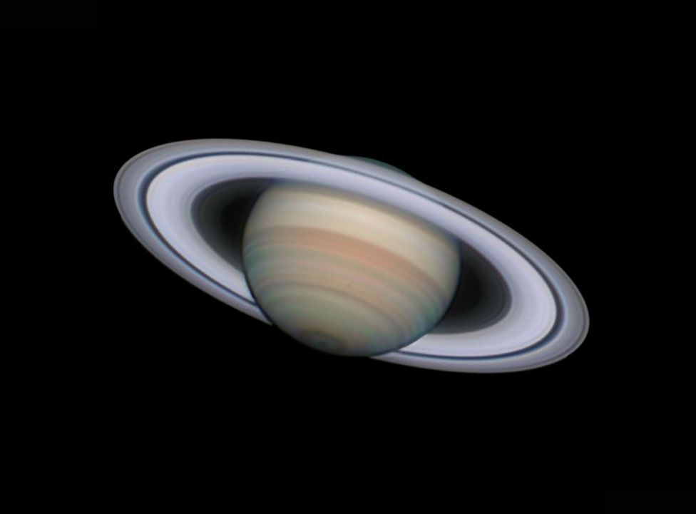 An image of Saturn by Damian Peach
