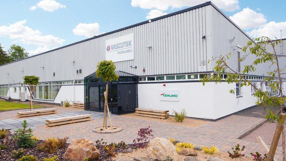 Vascutek headquarters at Inchinnan