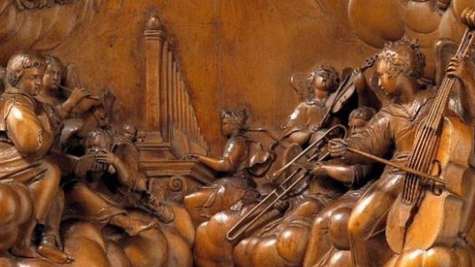 King David carving