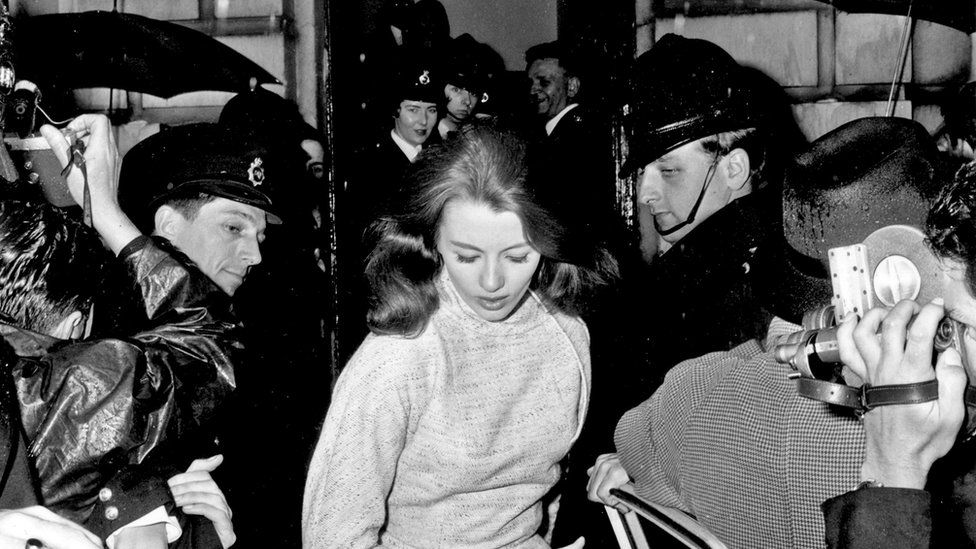In Search Of The Real Christine Keeler Bbc News