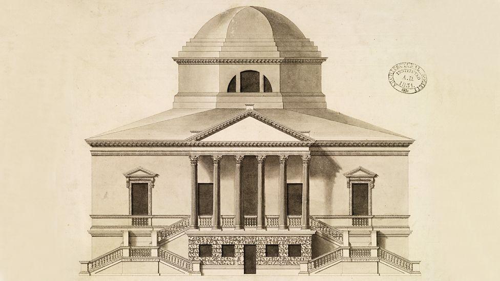 Chiswick House, London - by Lord Burlington, 1729