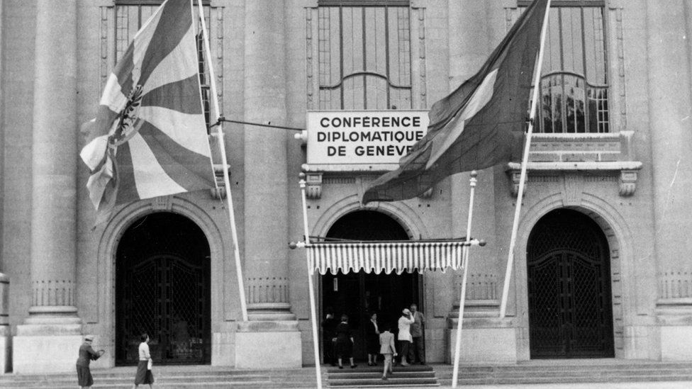 Building where the Geneva Convention was signed