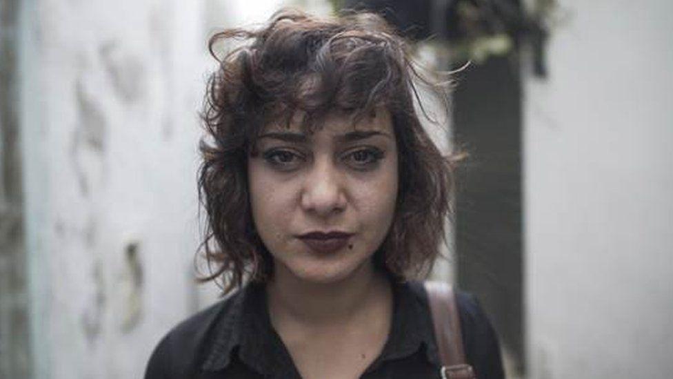 Nidhal Gharibi's ex-girlfriend Olfa