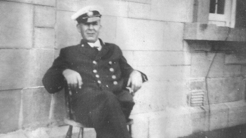 Kathleen's great-grandfather