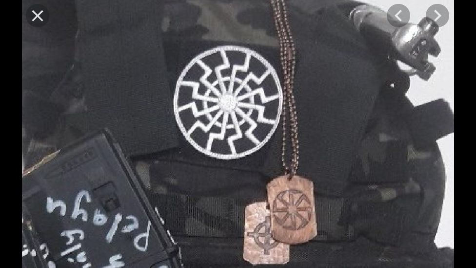 Picture of Christchurch shooter's vest