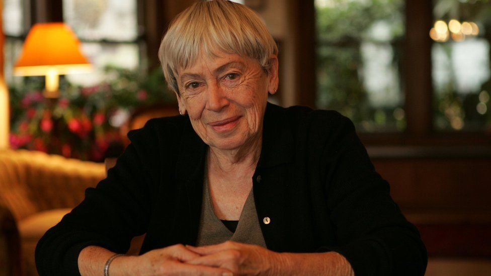Ursula Le Guin at home in Portland, Origon, California, 15 December 2005