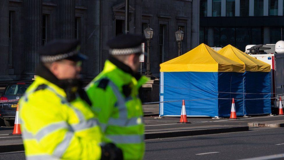 London Bridge attack scene