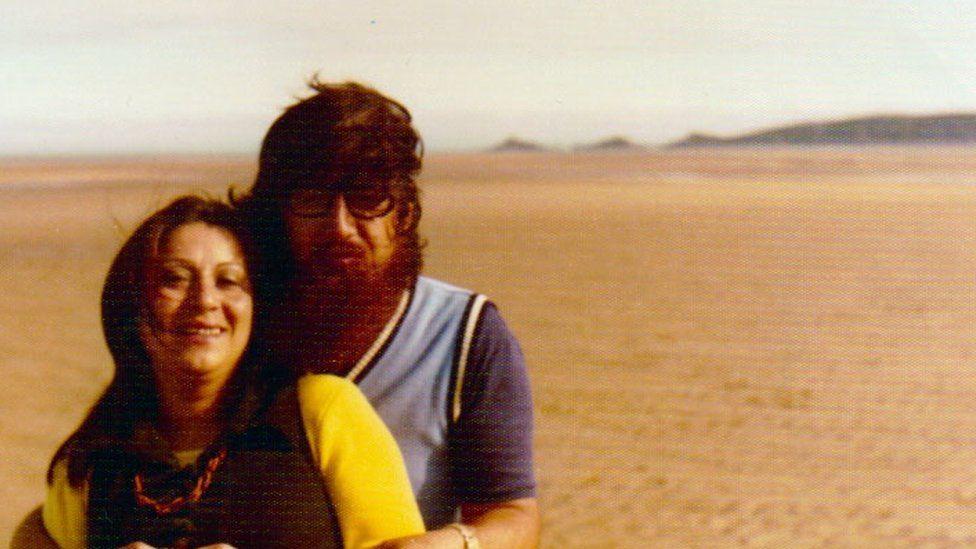Gabriela Gatica Leyton and Humberto in Swansea