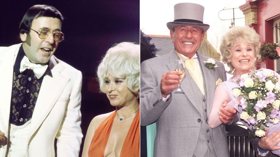 Mike Reid and Barbara Windsor