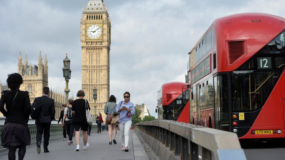 Barriers on Westminster Bridge