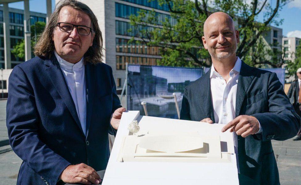 Johannes Milla (L) and Sebastian Letz of Milla & Partners, 28 May 20