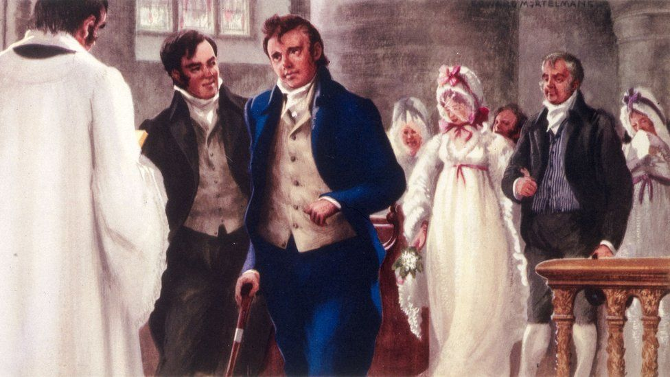 Marriage of Charlotte Charpentier and Walter Scott