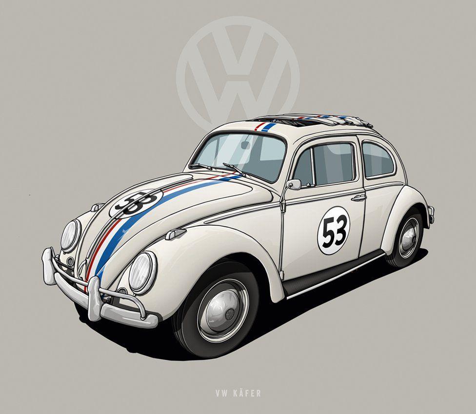 """VW Beatle - """"Herbie"""""""