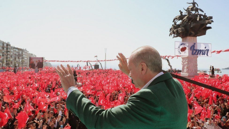 President Erdogan in Izmir