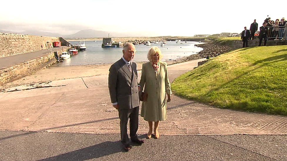 Prince Charles and the Duchess of Cornwall visited the site where the IRA murdered his great-uncle