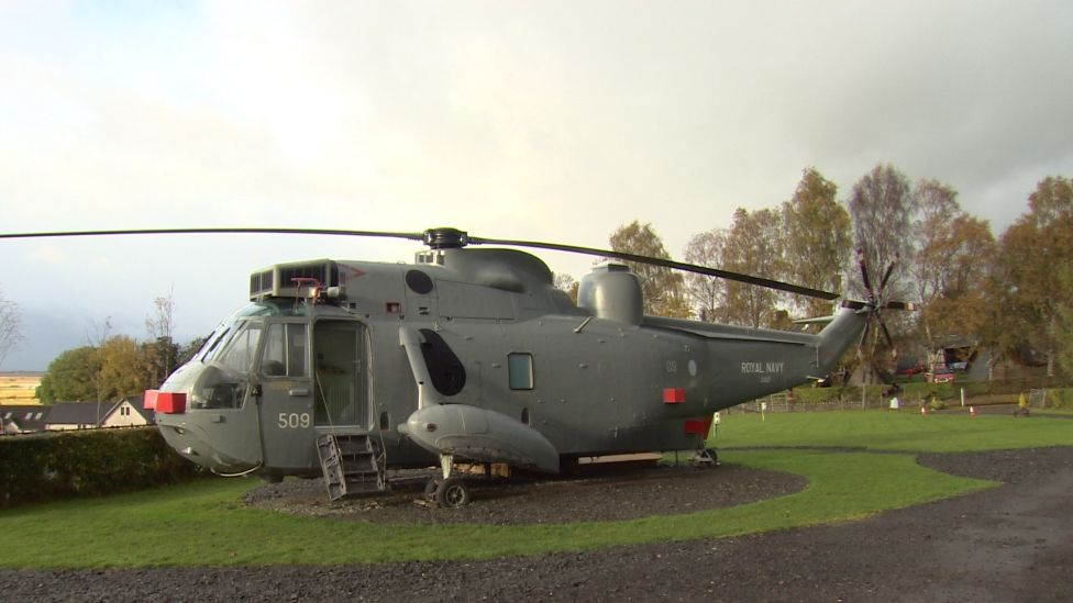Glamping helicopter