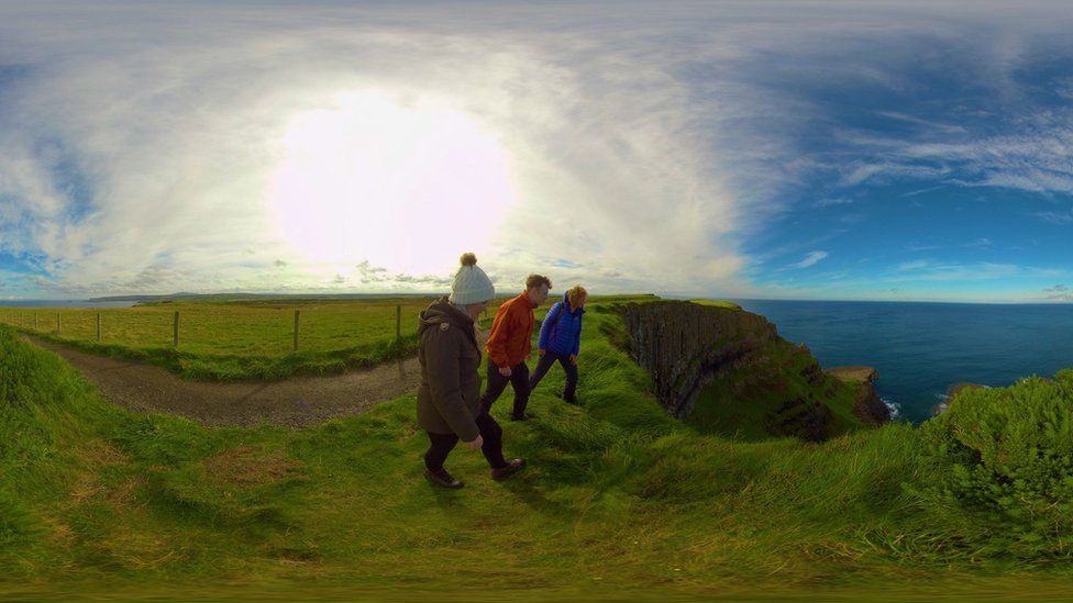 VR experience promoting Northern Ireland