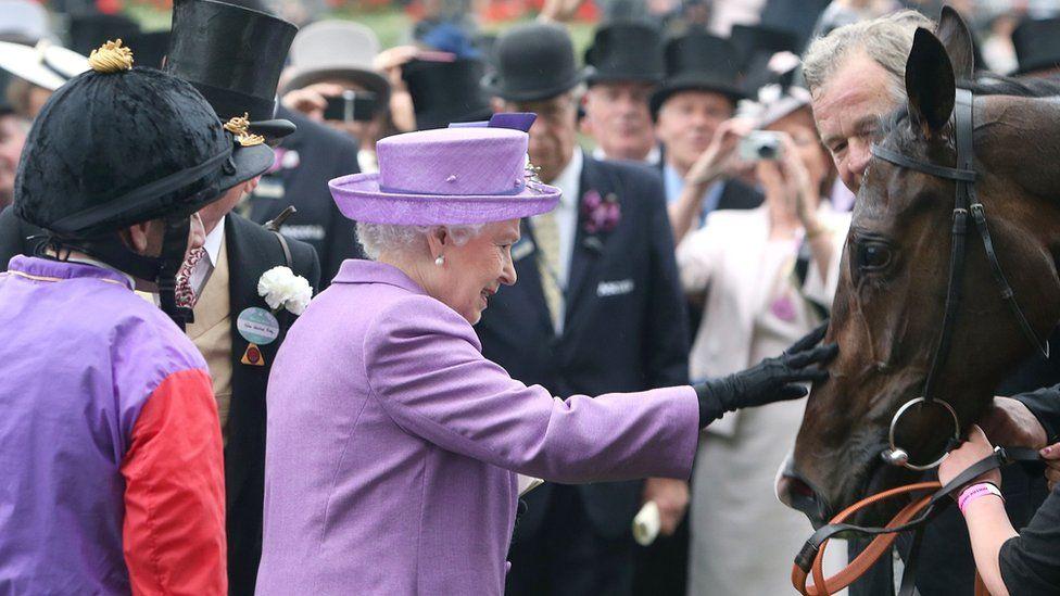 The Queen at Cheltenham