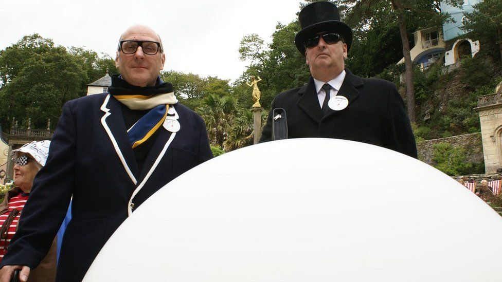 Clive Wright and Will Hulbert from the Prisoner Appreciation Society
