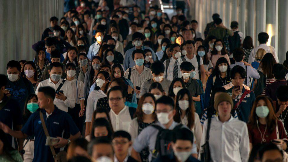 mask being worn in public