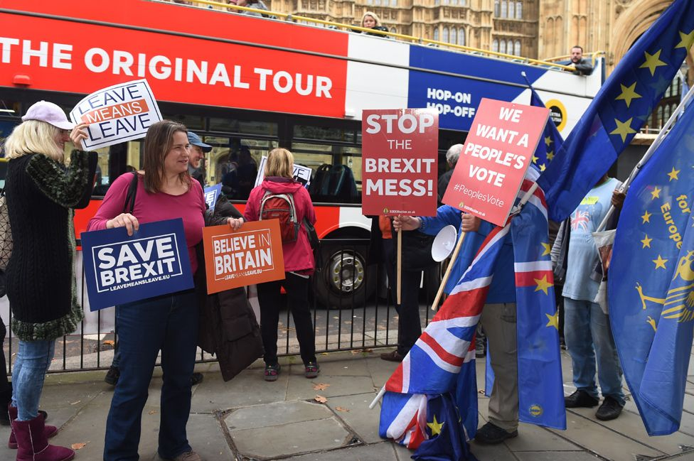 Brexit demonstrations in London, 2018