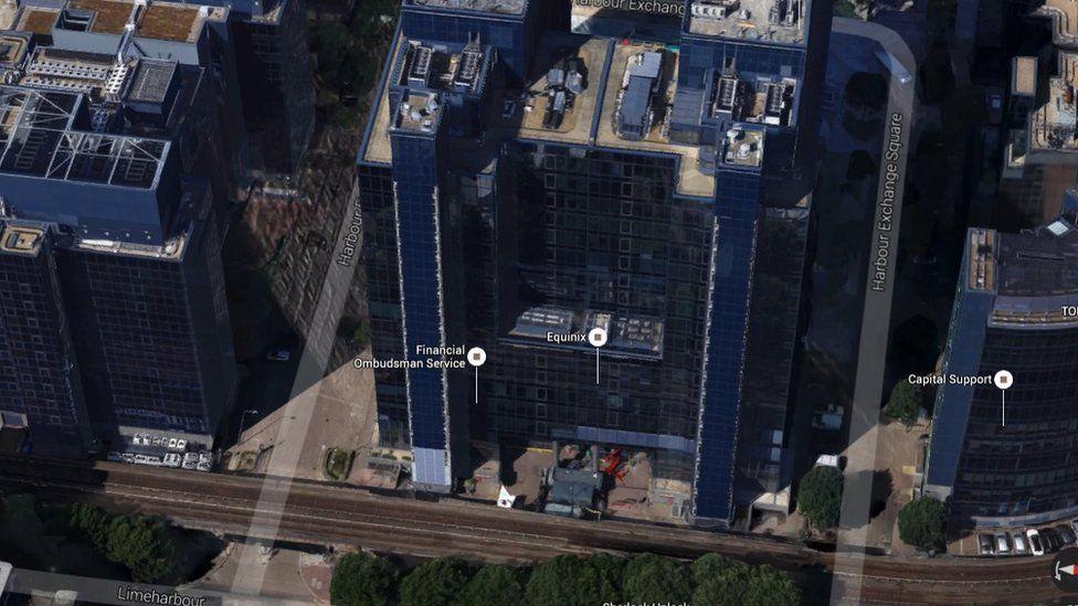 Equinix Google Maps