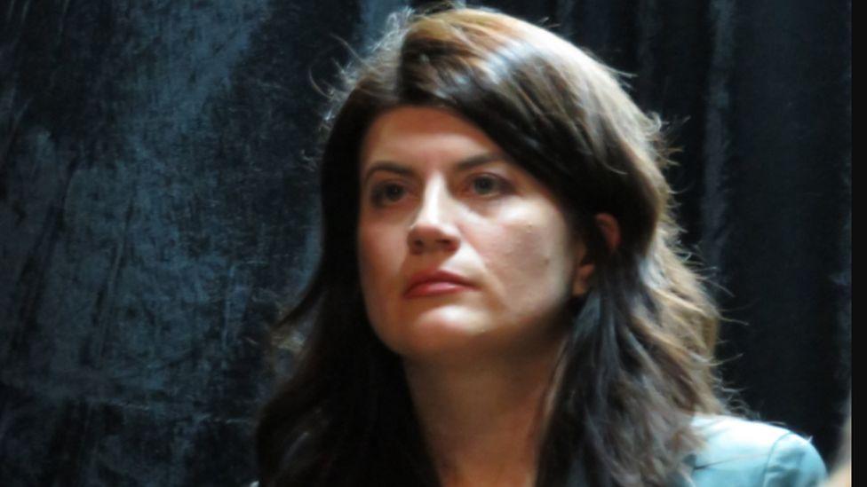 Ukrainian author Larysa Denysenko