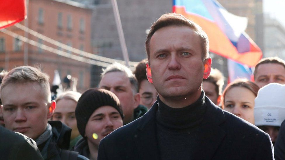 Navalny rally in Moscow, 29 Feb 20
