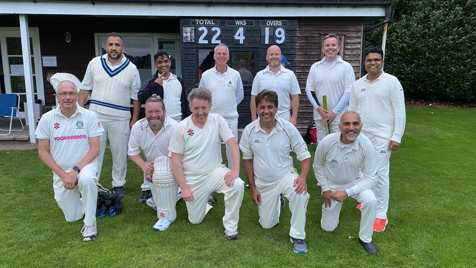 Bowdon Cricket Club's over-40s last won a match in 2015