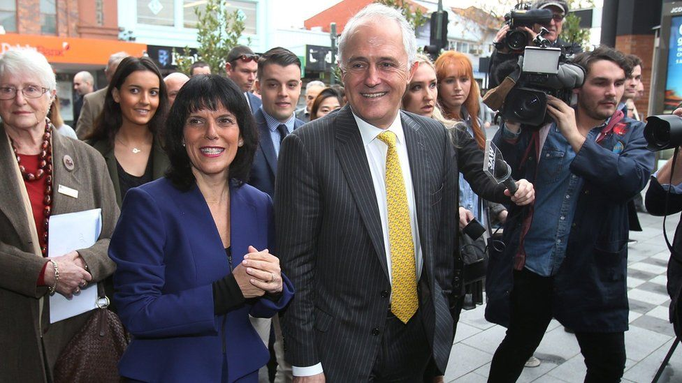 Malcolm Turnbull meeting new MPs in Melbourne - 8 July