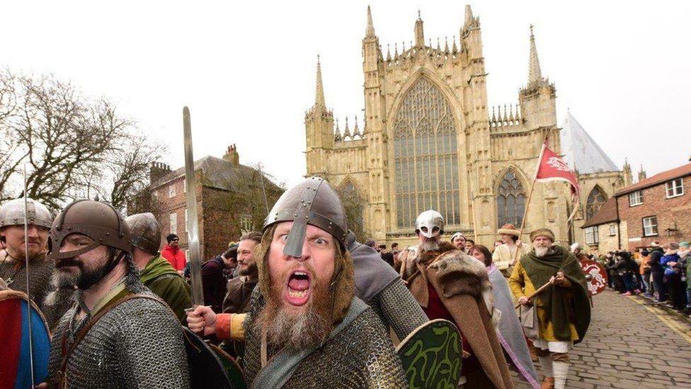 Vikings in York