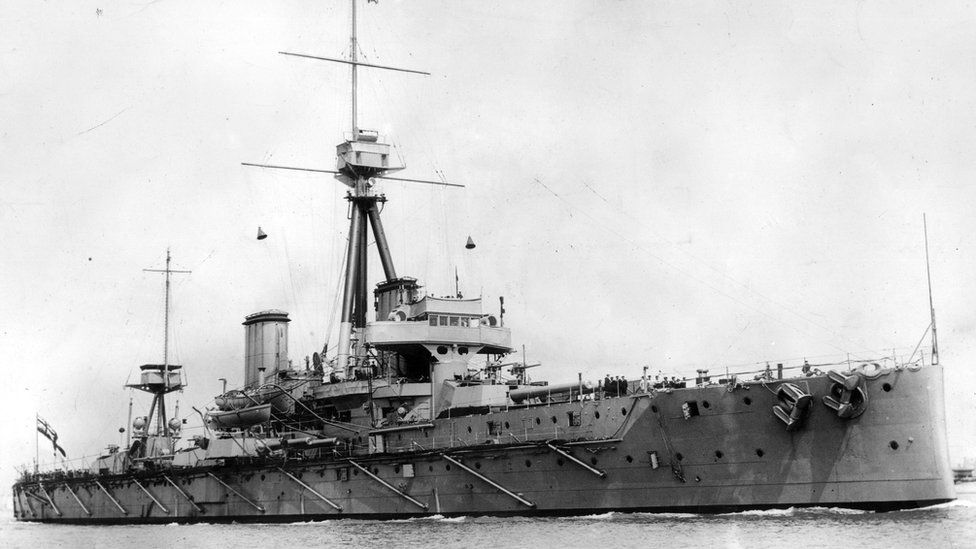 HMS Dreadnought from 1909