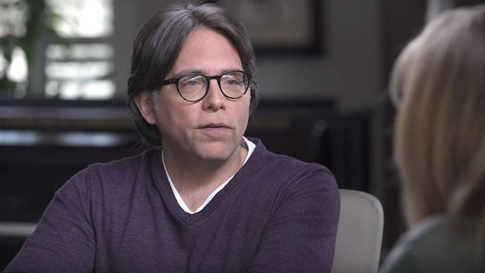 Keith Raniere in a still from his own Youtube channel