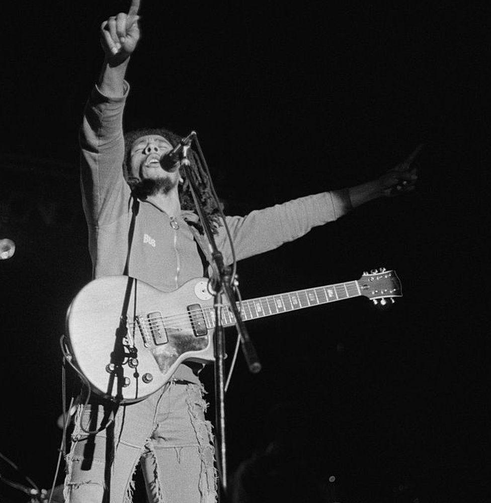 Bob Marley ym Mharc Ninian
