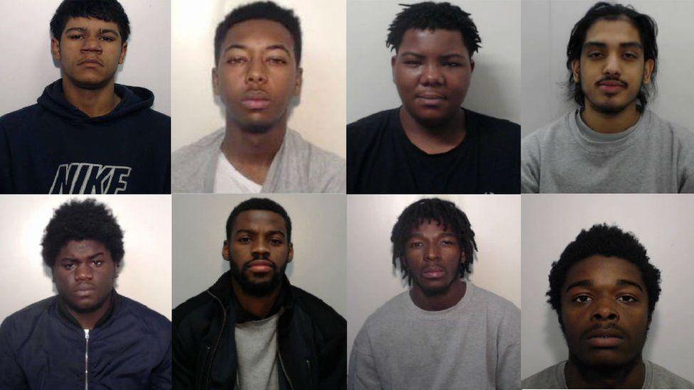 Eight men sentenced for murder