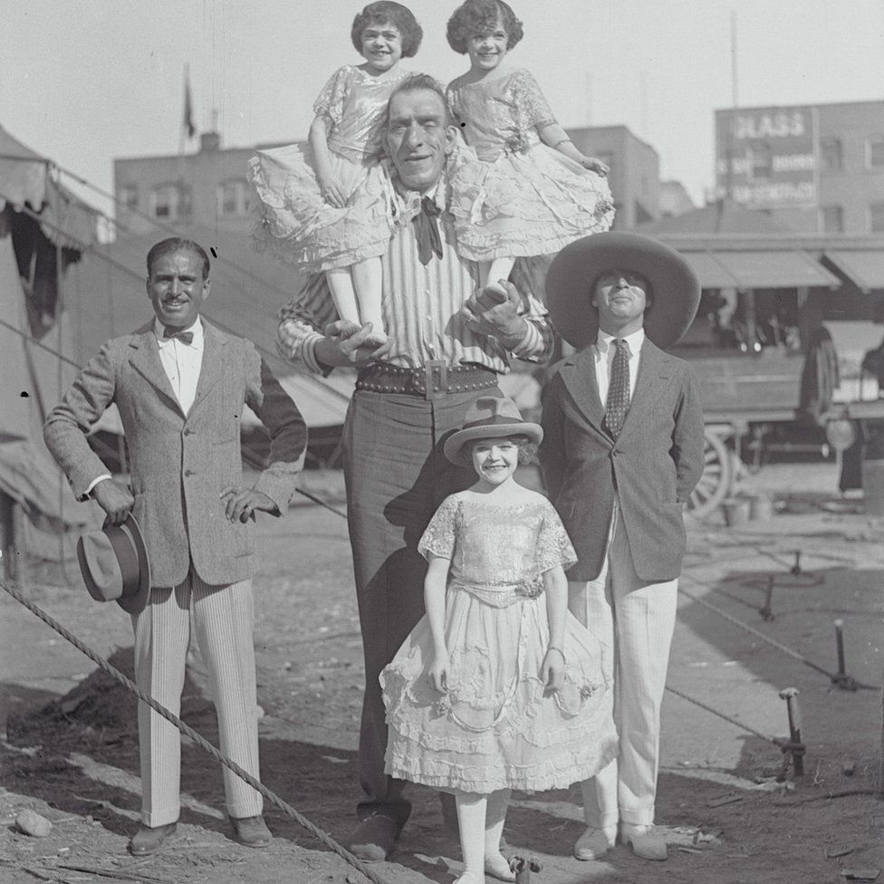 Douglas Fairbanks Sr, George Auger and Charlie Chaplin