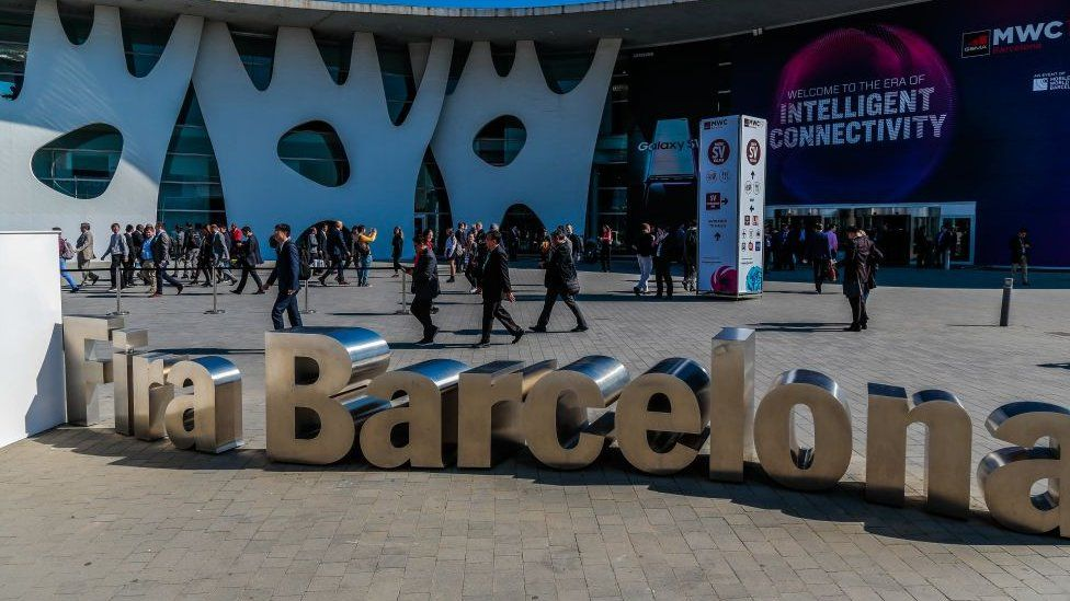 entrance to MWC
