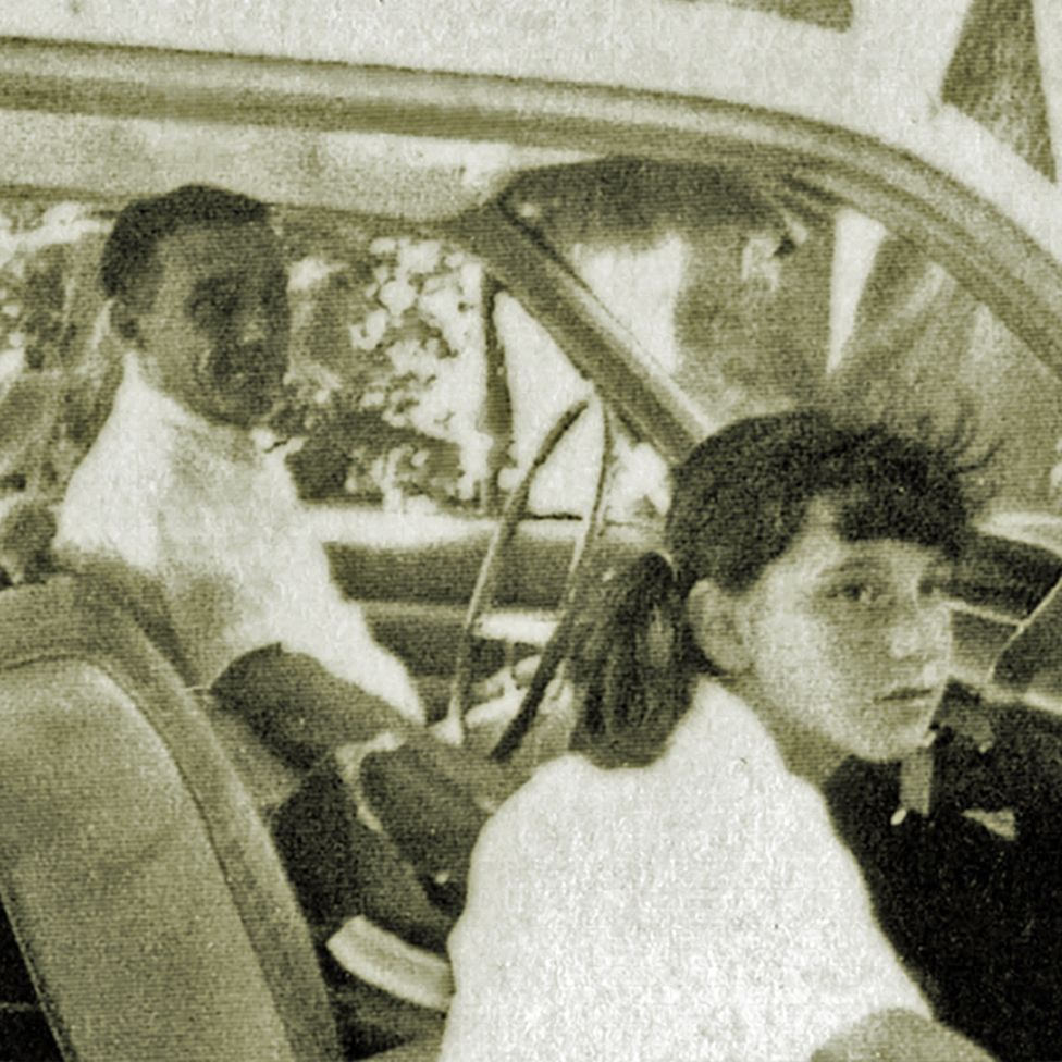 Arden and Margo, photographed in Florida in 1963 or 1964