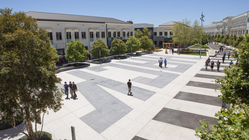 Facebook HQ in Menlo Park, California