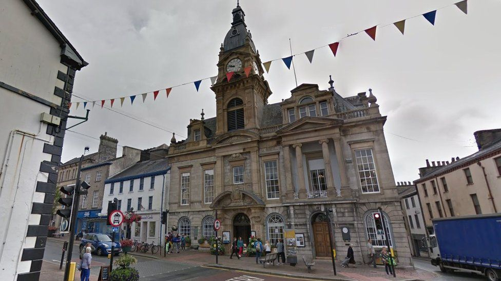 Council office in Kendal