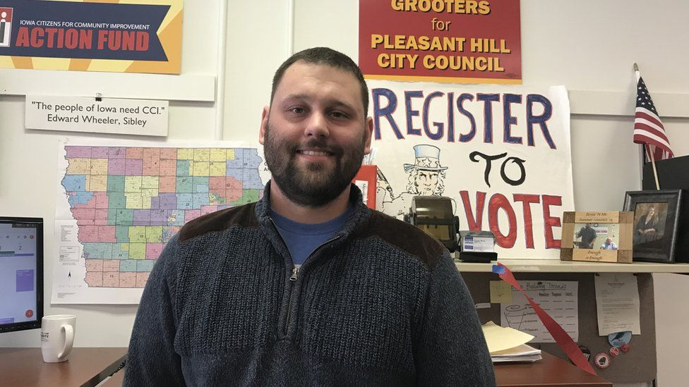 Evan Burger is a senior organizer at Iowa Citizens for Community Improvement.