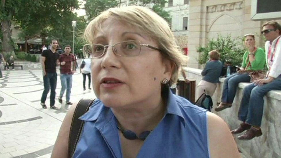 Leyla Yunus - TV grab (archive)