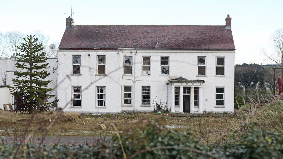 The former Marianvale home in Newry was among several institutions where single mothers were sent to give birth