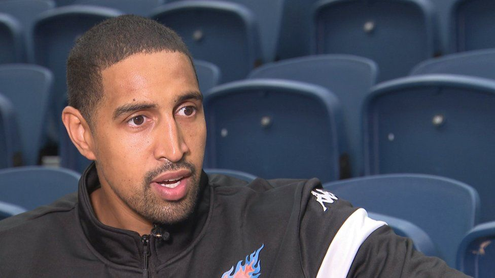 Basketball player Kieron Achara