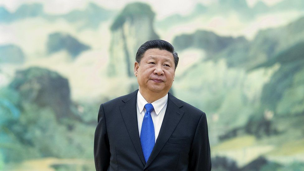 Chinese President Xi Jinping await delegates to the G20 Summit at the Hangzhou International Expo Centre on 4 September 2016 in Hangzhou, China.