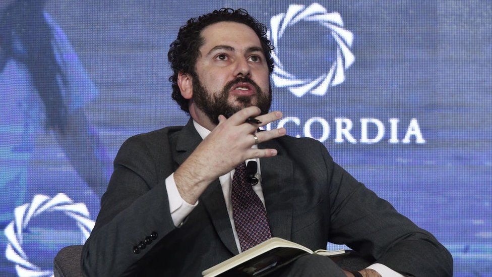 Lucas Gomez at the 2019 Concordia Americas Summit in Bogota on May 14, 2019.