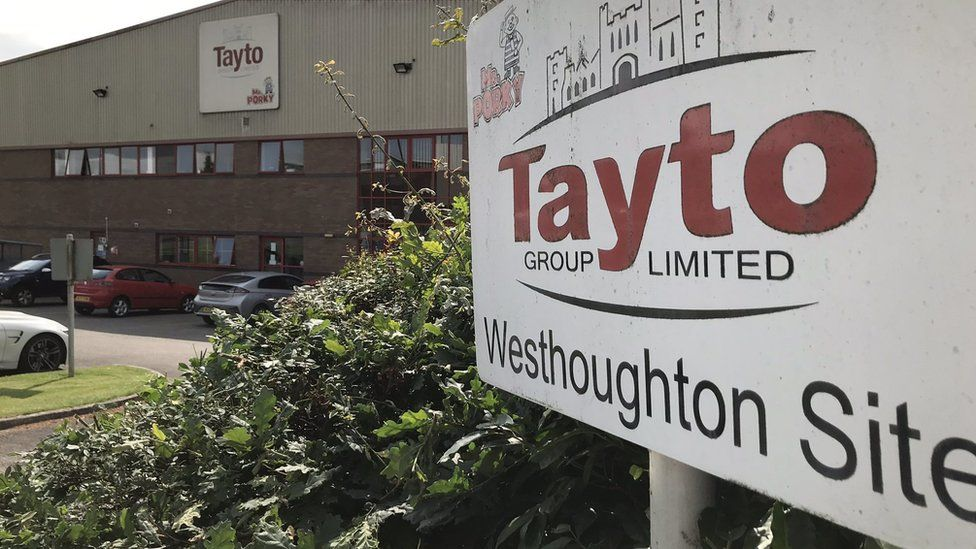 Fábrica tayto en West Houghton, Bolton