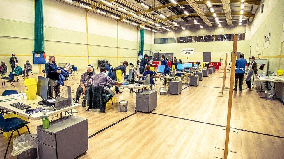 Vaccinations at the Waitrose HQ Sports & Leisure Centre