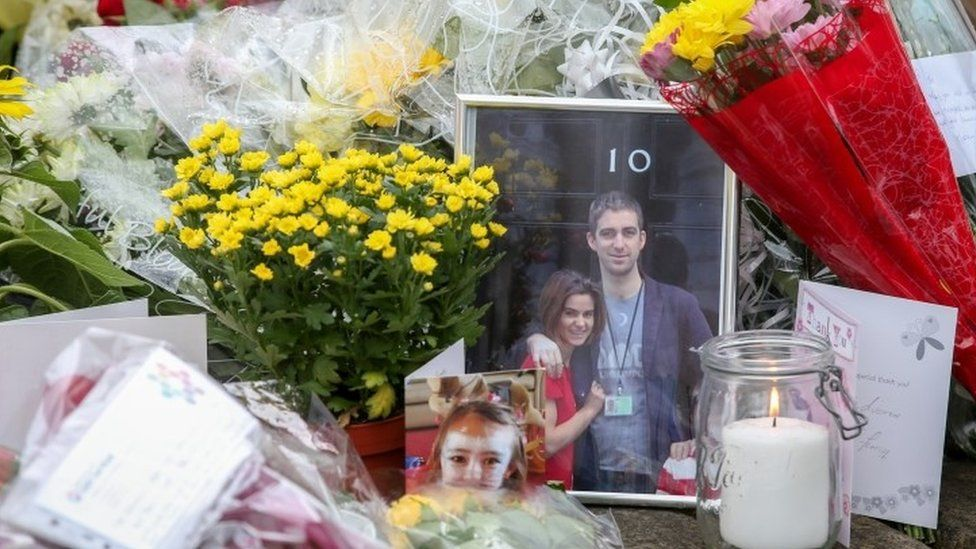 Picture of Brendan Cox with his late wife Jo