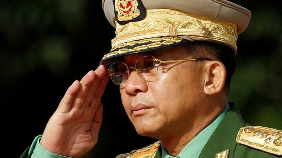 Myanmar coup: Min Aung Hlaing, the general who seized power - BBC News